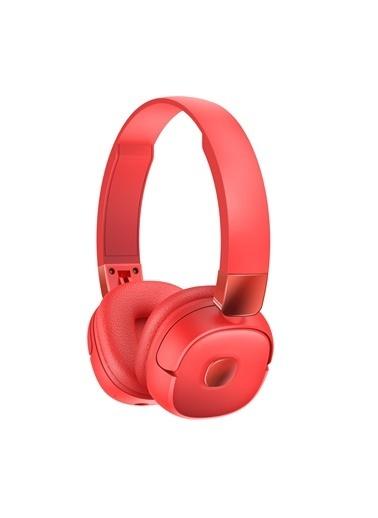Jacobson G501 Bluetooth Kulaküstü Kulaklık 3d Stereo Ses Kırmızı Kırmızı